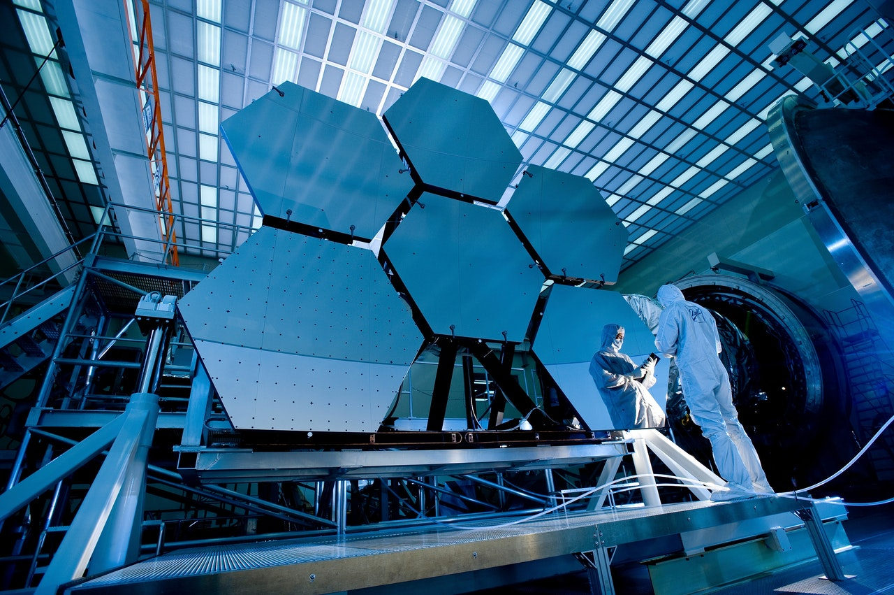 R&D Webb Space telescope